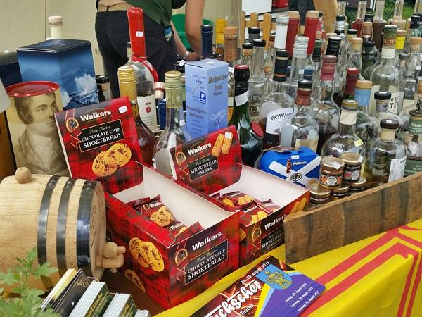 Tauchscher Whisky-Stand