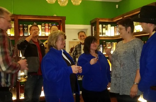 Whisky-Abend im Januar