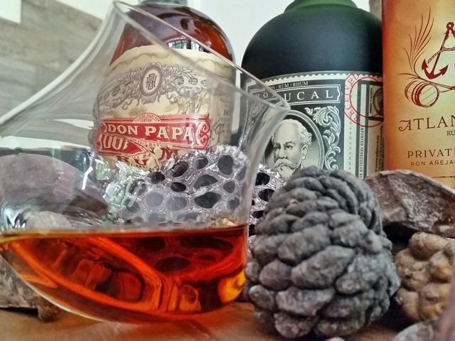 Rum-Verkostung
