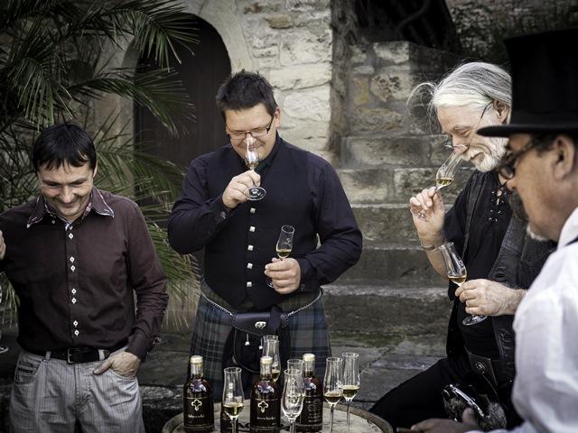 Schlosswhisky-Expertenrunde