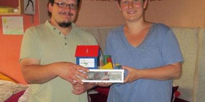 Spendenübergabe Stiftung Kinderklinik